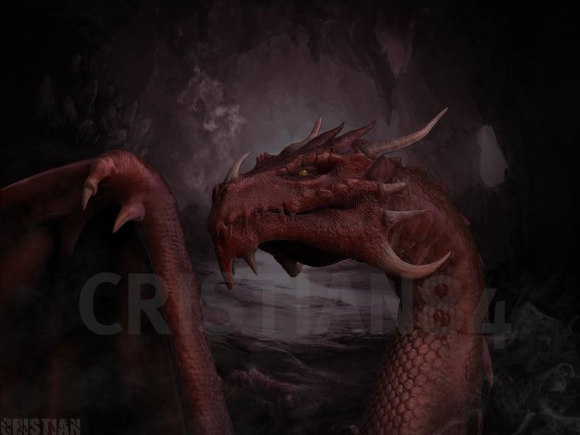 Dragon con Sculptris y Zbrush | Domestika