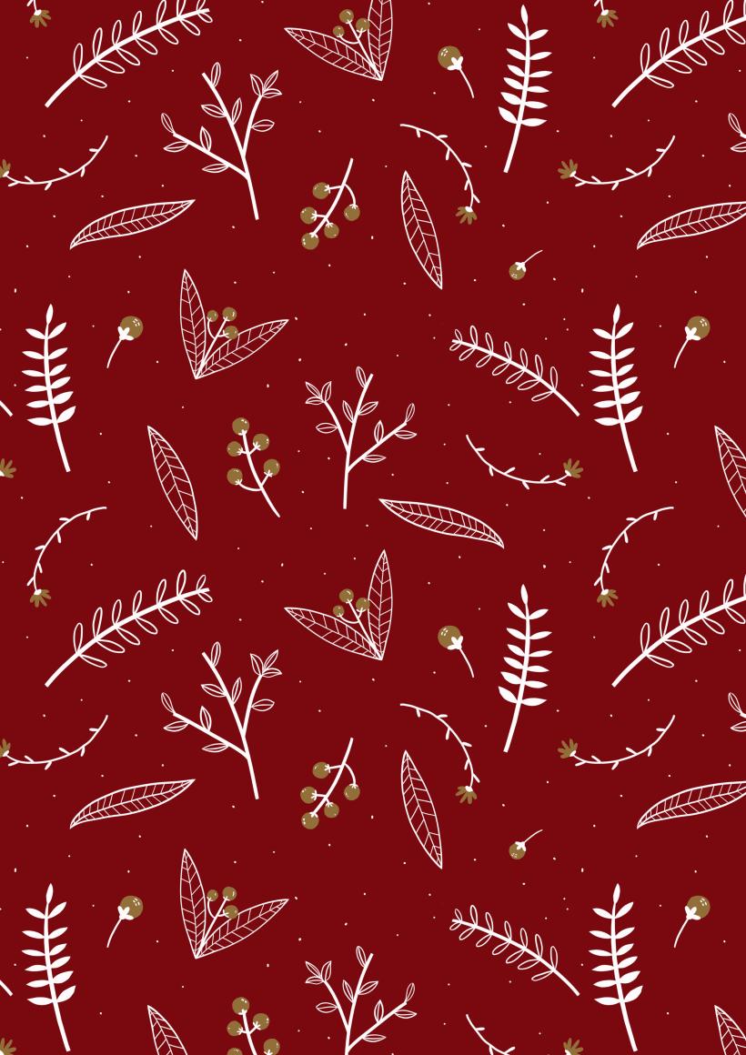 Christmas Patterns Domestika