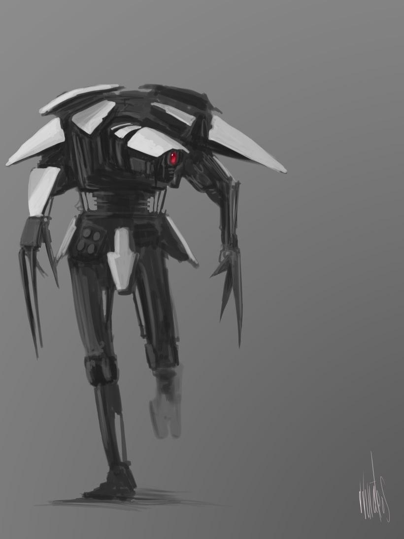 Robots Concept Art Domestika