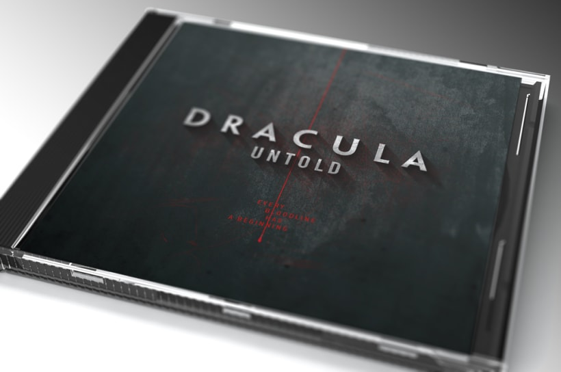 Carátula de CD para Dracula Untold | Domestika