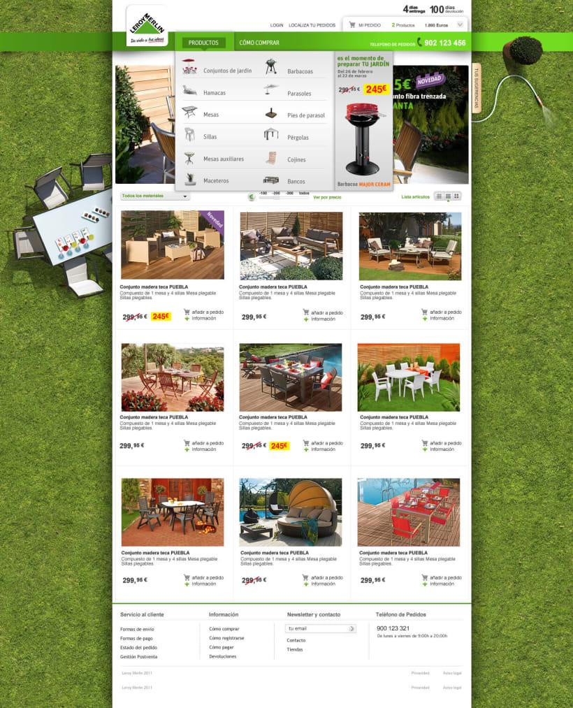 Leroy Merlin Shop Online Domestika