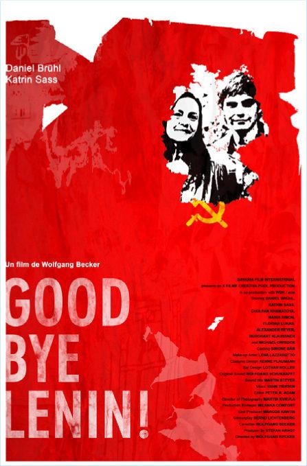 Goodbye Lenin Daniel Bruhl movie poster print