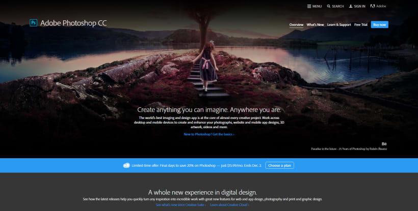 Adobe Photoshop CC 2015 Splash | Domestika