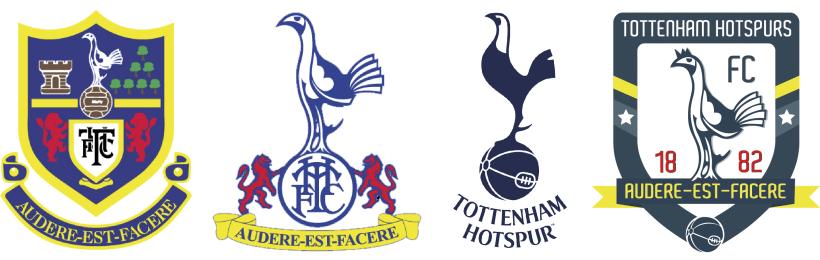 Rediseno Escudo Tottenham Hotspurs Domestika
