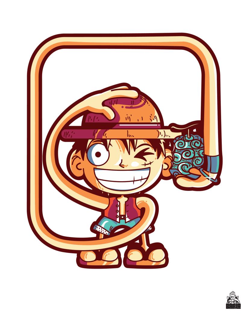 Monkey D Luffy From One Piece Domestika