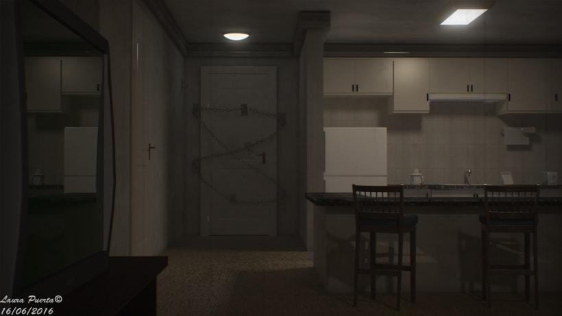 Silent Hill 4 The Room Fan Art Domestika