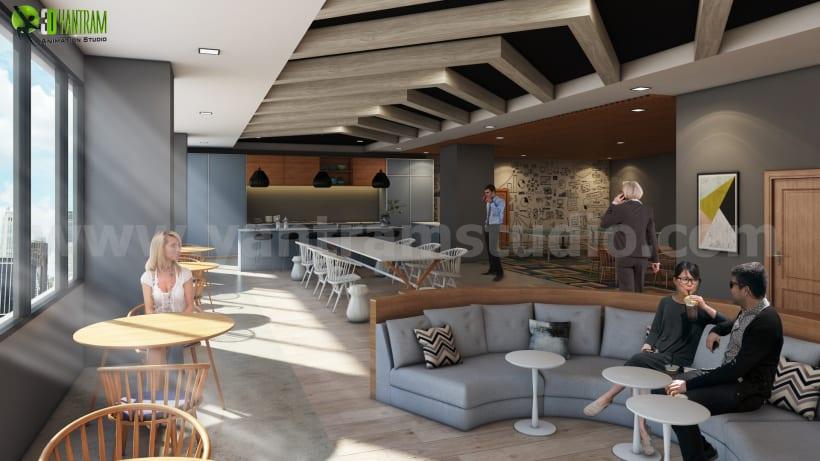 Ideas de diseño de interiores de oficina moderna para cocina ...