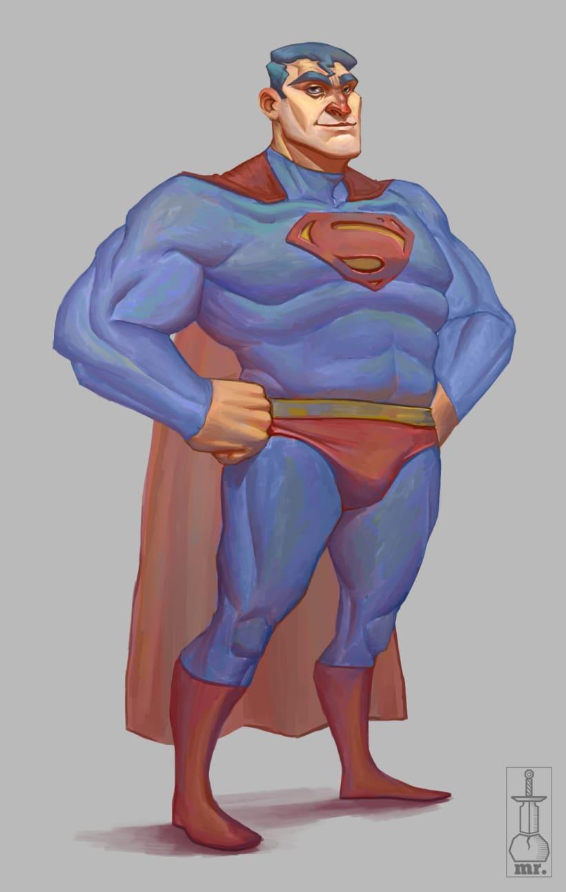 Superman - Fanart | Domestika