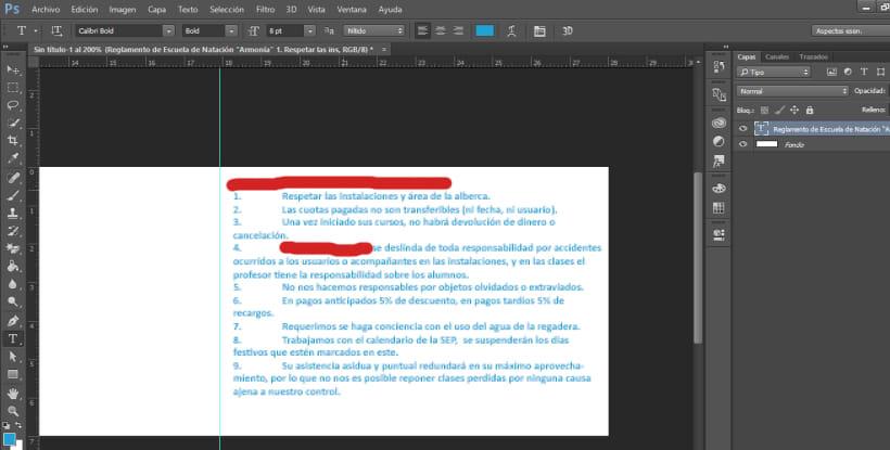 Photoshop Mi Texto Esta Pixelado Informática Domestika
