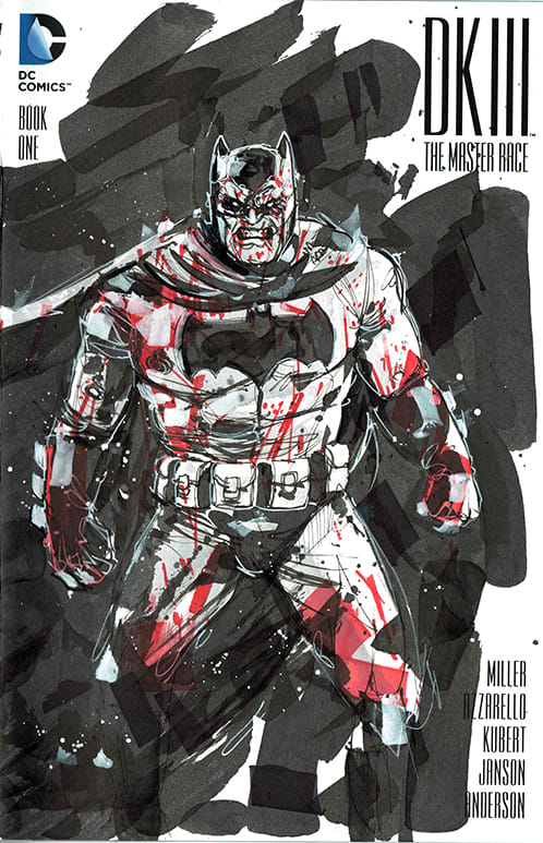 Batman DKIII Cover ink | Domestika