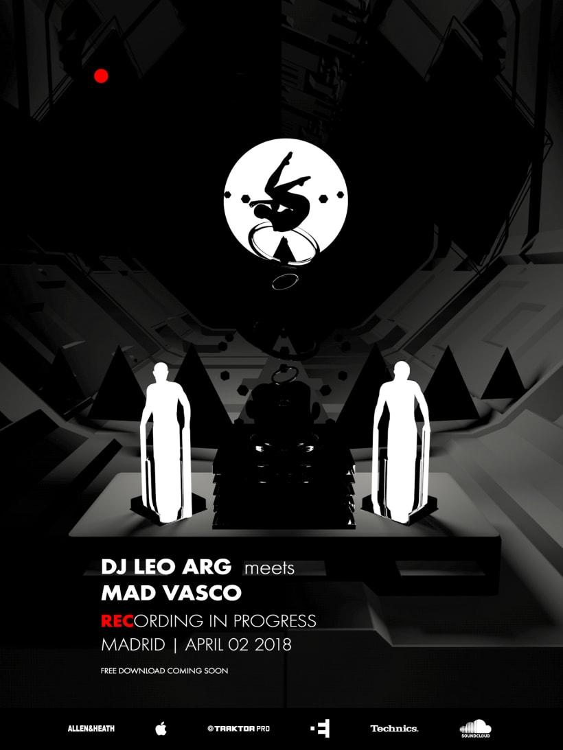 DJ LEO (ARG) meets MAD VASCO   Domestika