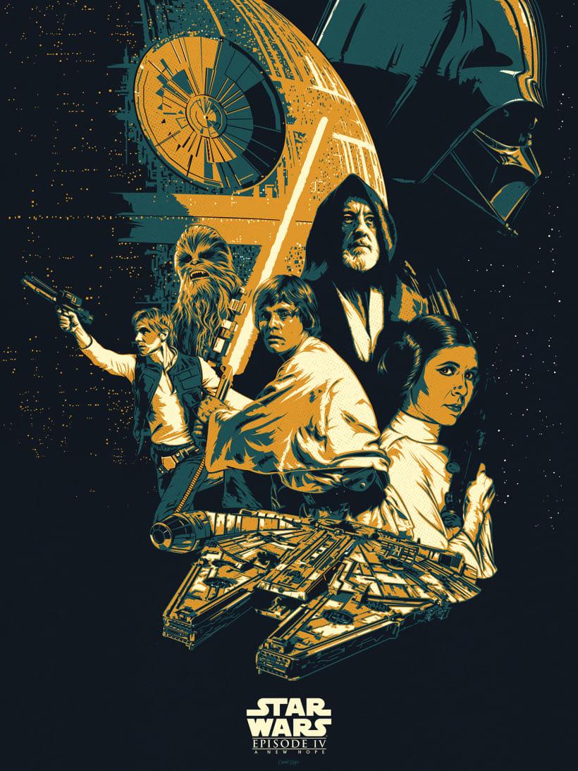 Star Wars Episode Iv Domestika