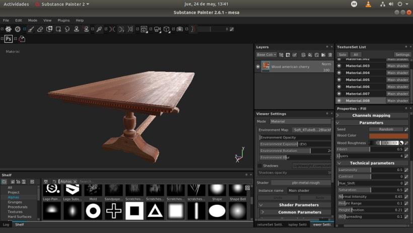 Mesa Victoriana para Unreal Engine 4 (UE4)   Domestika