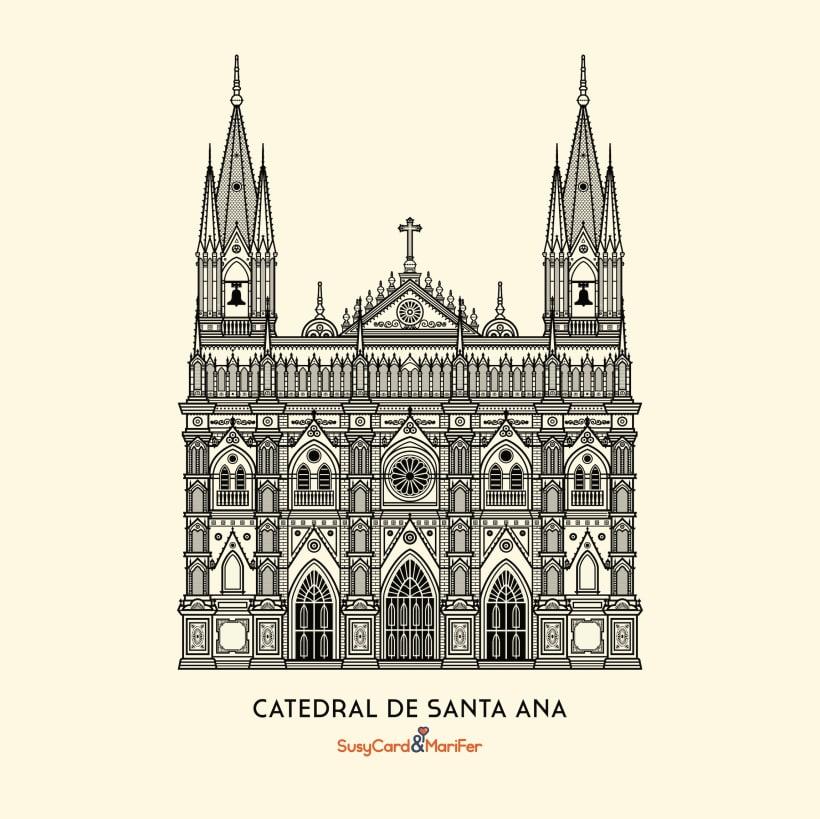 Catedral De Santa Ana El Salvador Domestika