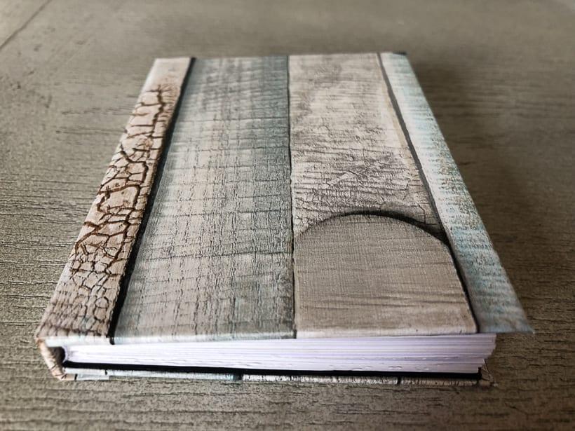Encuadernación Libro Fotográfico con Vinil | Domestika
