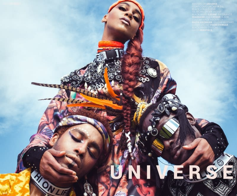 H.O.L 2.0.5 - Afro Style Magazine 18th issue - Los Angeles, US. | Domestika
