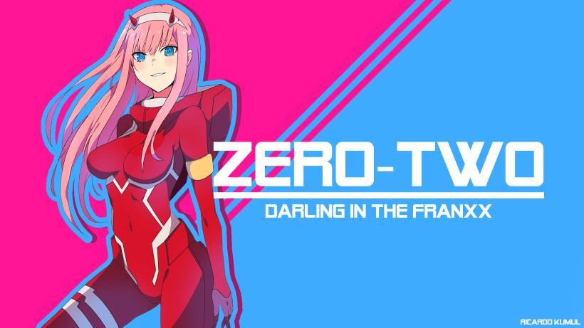 Wallpaper Anime Darling In The Franxx Domestika
