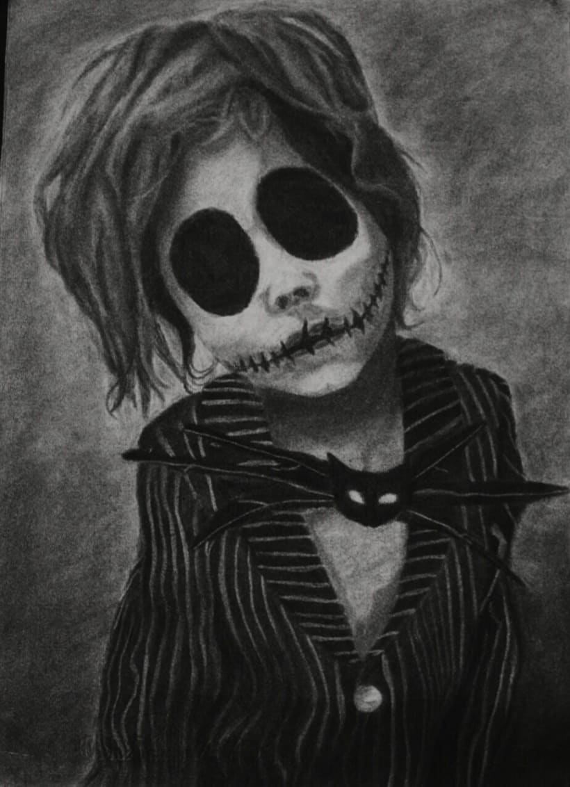 Kid Jack Skellington | Domestika