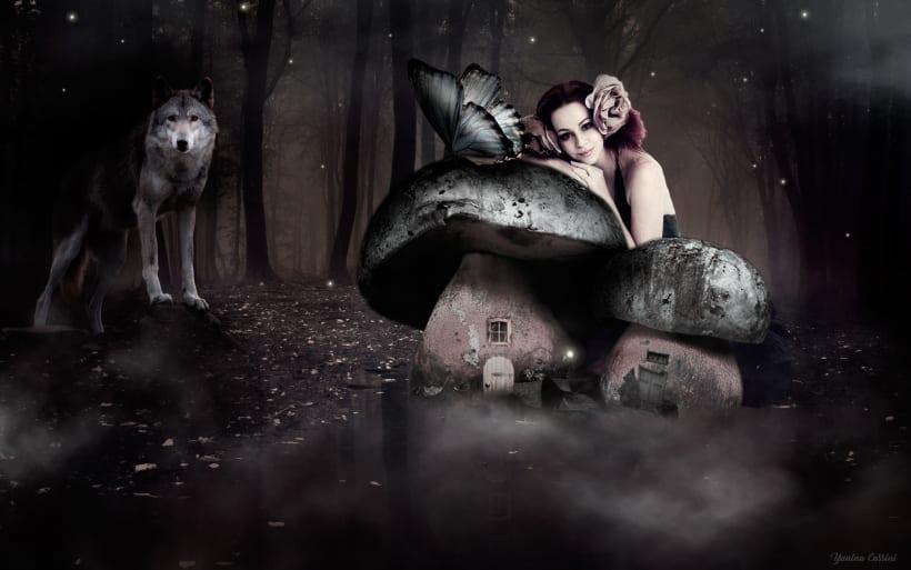 Bosque fantasía | Domestika