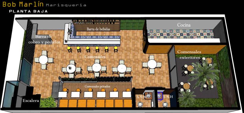 Mi proyecto del curso dise o de interiores para - Proyecto diseno de interiores ...