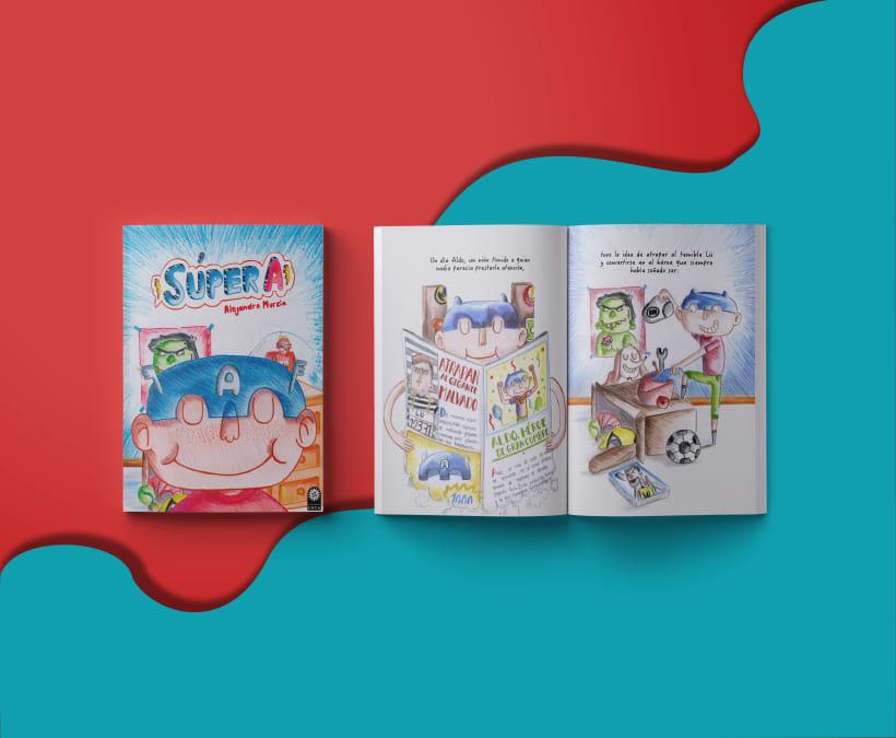 Super A Libro Album Ilustrado Domestika