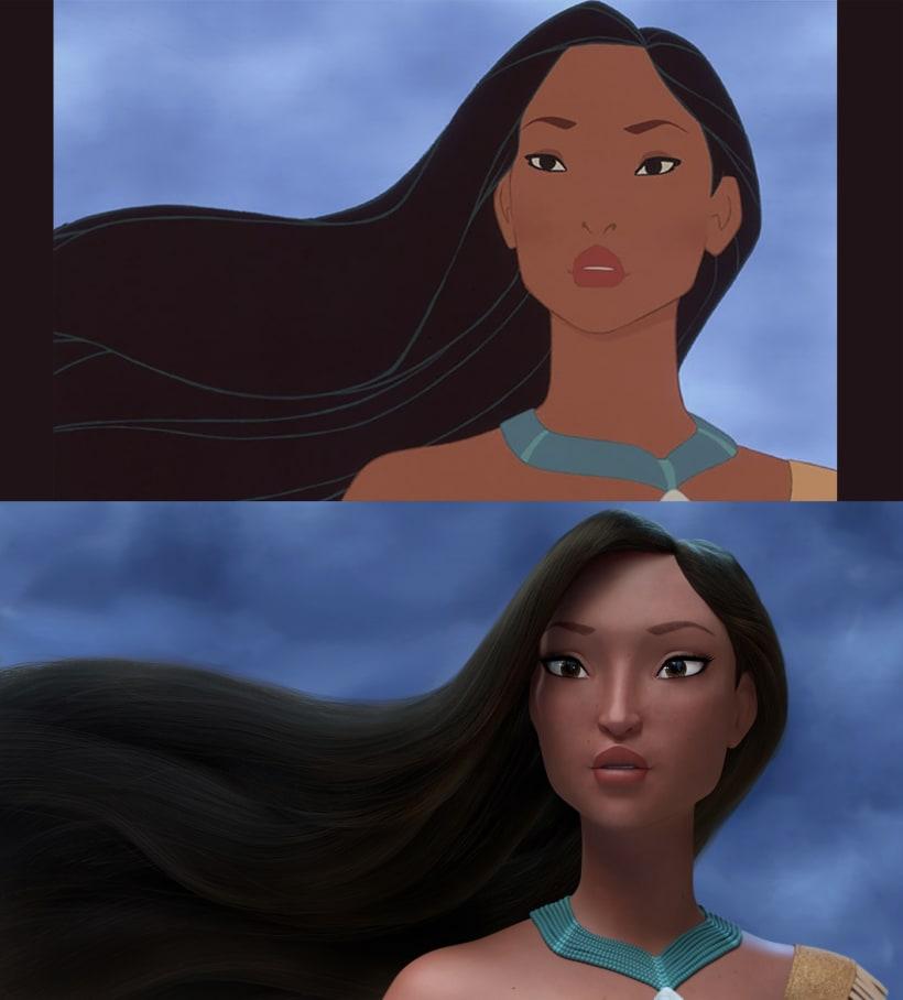 Pocahontas Domestika