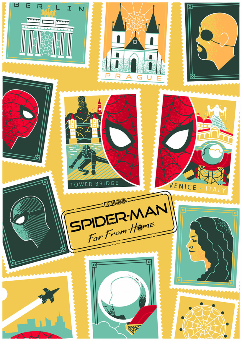 Spider-Man Far From Home | Domestika