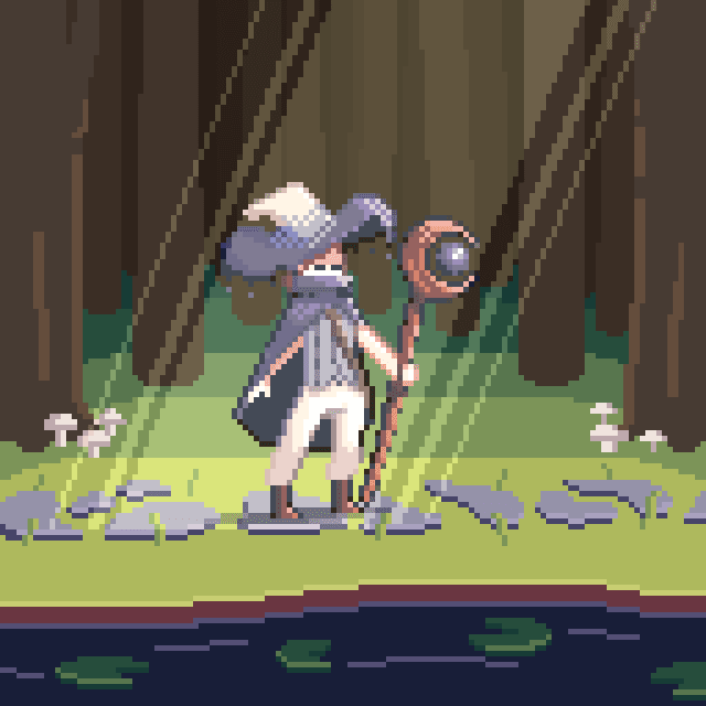 My Project In Introduction To Character Design In Pixel Art Course Domestika