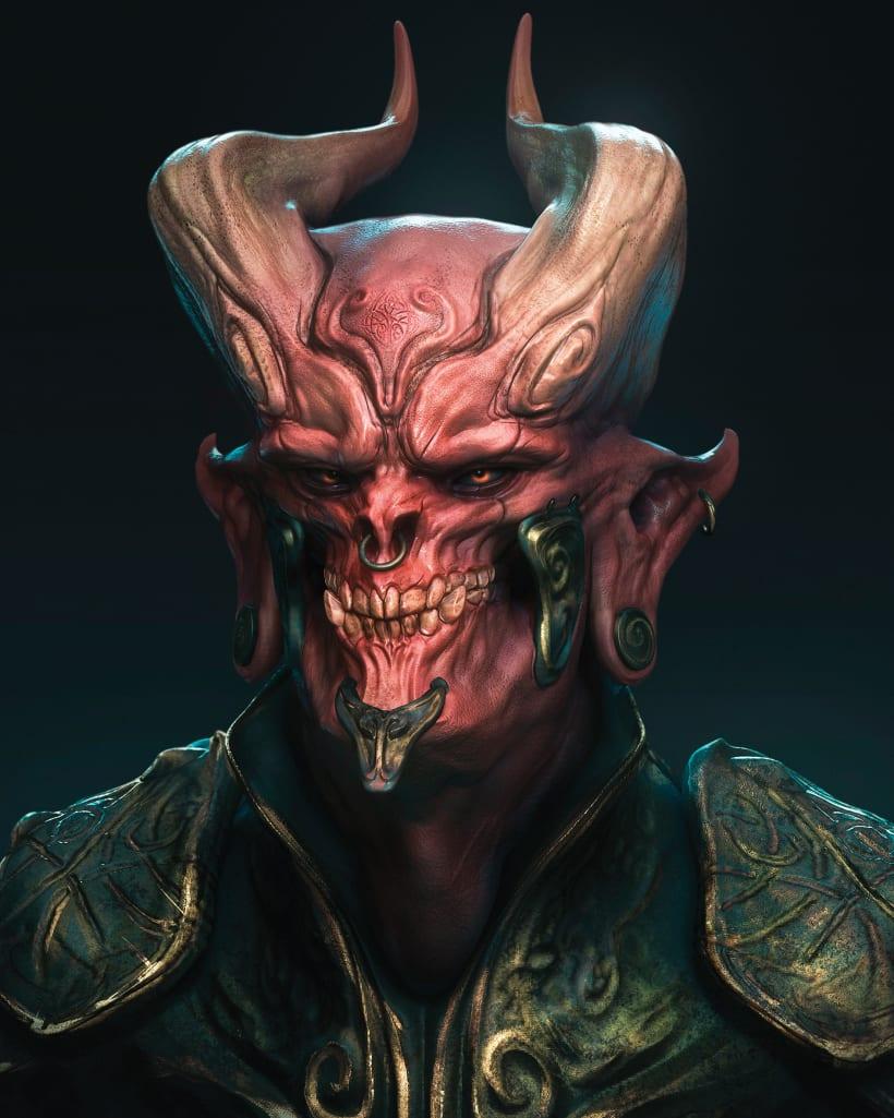 El Diablo | Domestika