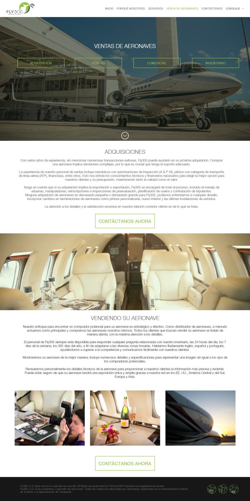 Web Site 305 Fly | Domestika