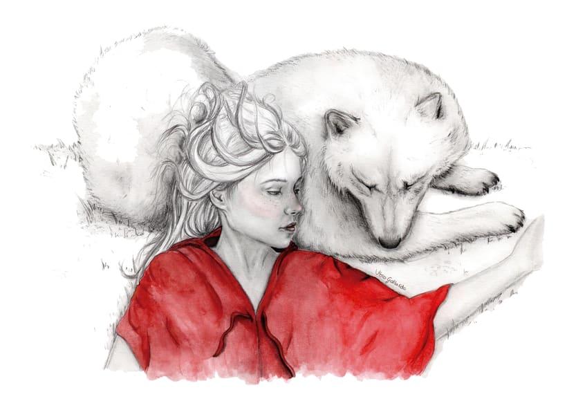 Caperucita Roja Y El Lobo Feroz Domestika