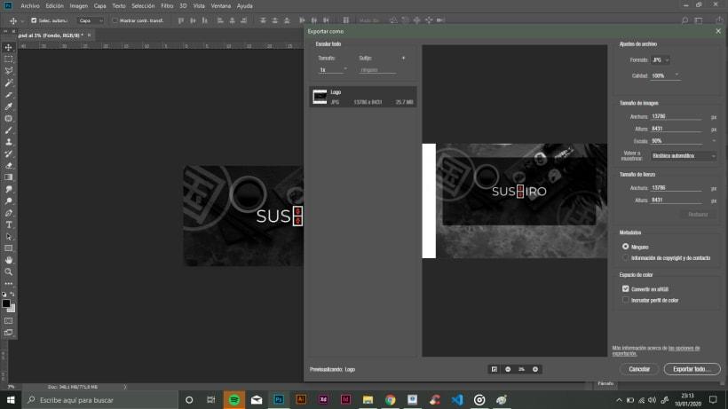 Problemas Al Exportar En Photoshop Fotografia Domestika