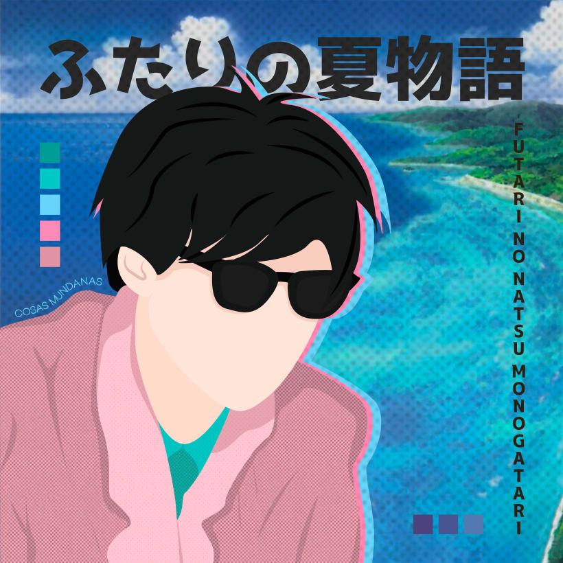Ilustración Vectorial Inspirada En Cultura Pop Japonesa